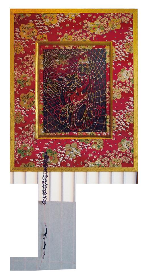 『観音様と蜘蛛の糸』 <br>Bodhisattva and the Spiderthread